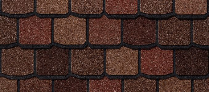 Roofer in Utah. Shingle - Venetian Red